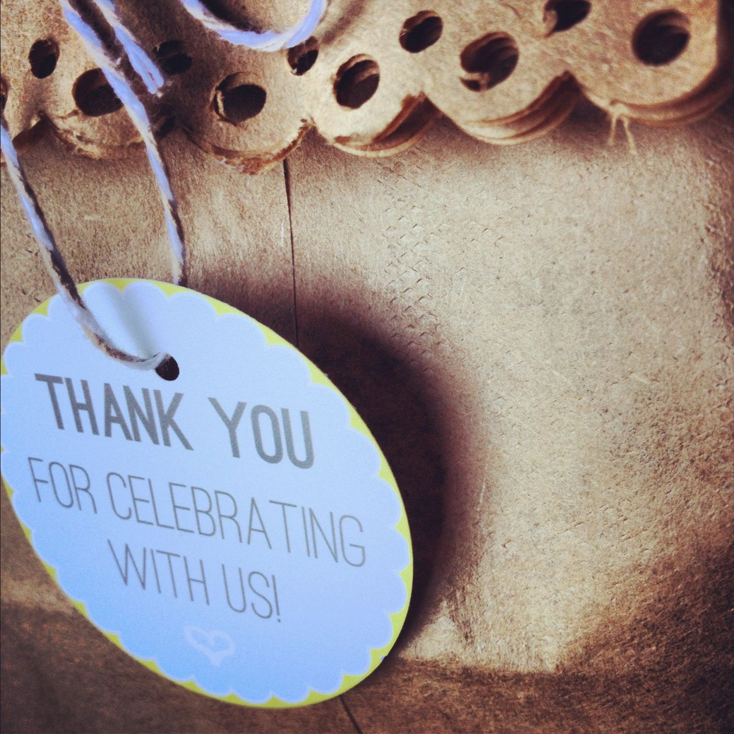 Thank you treat bags