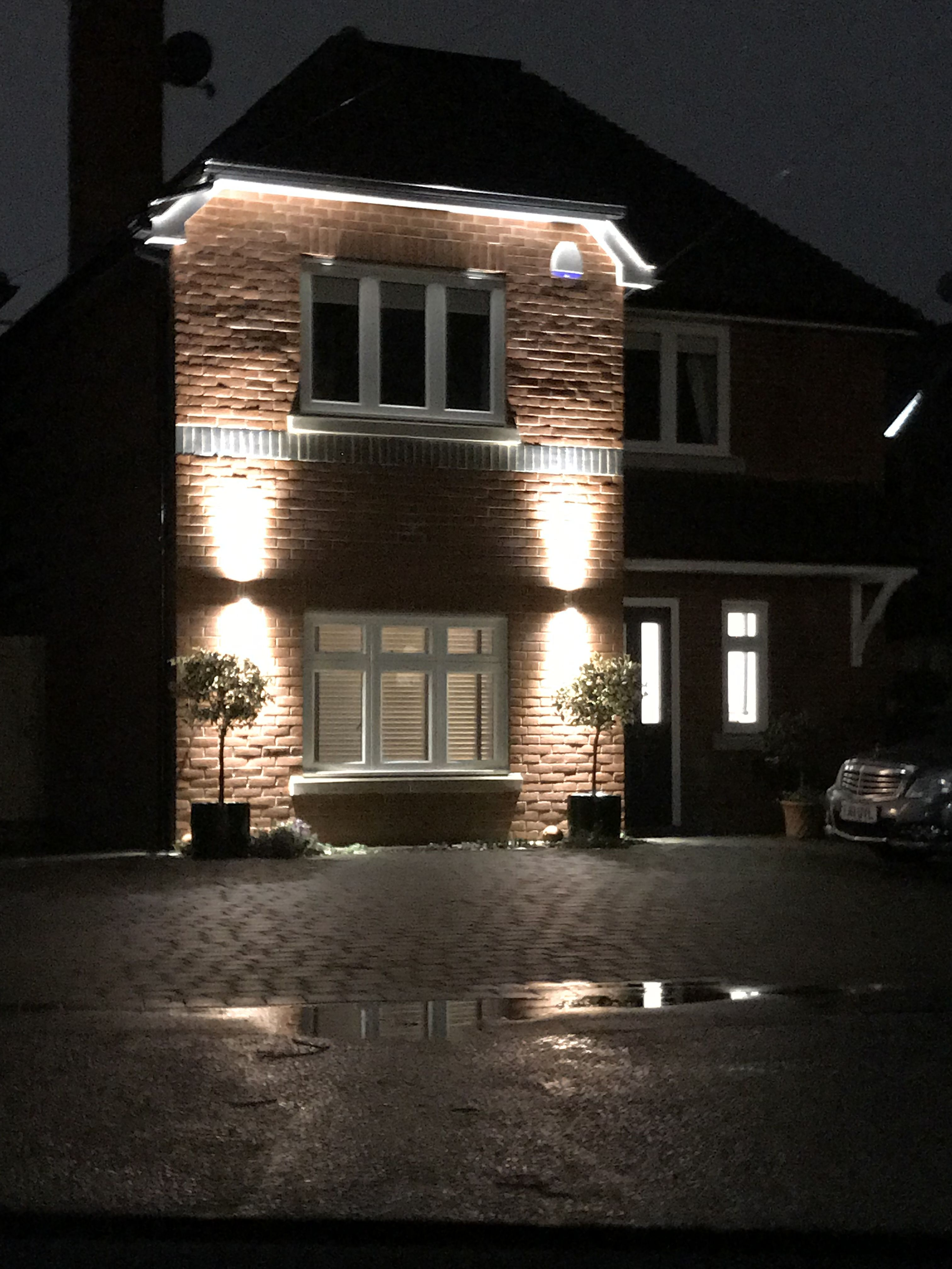 External Lighting For House With