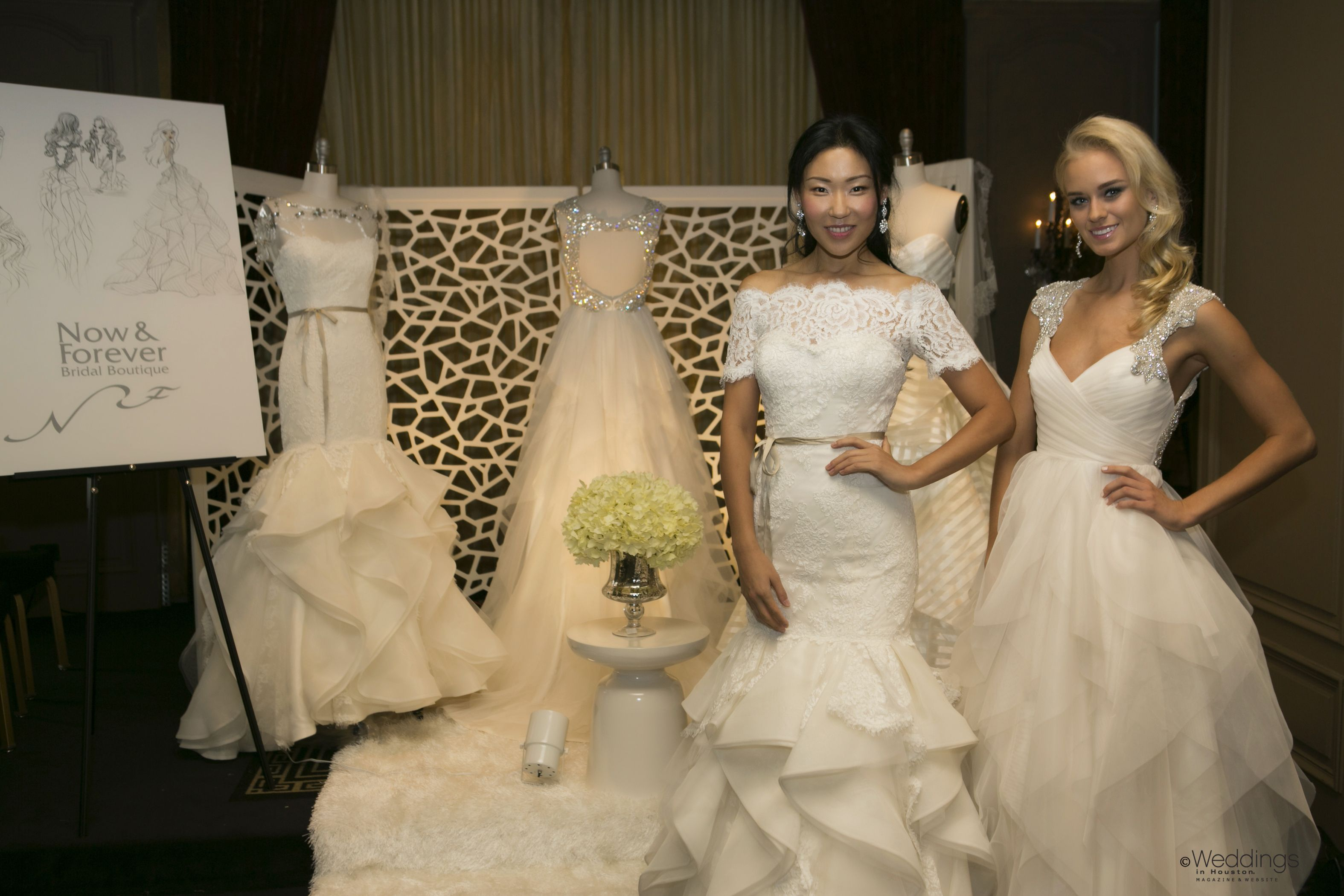 Elite wedding dresses  Lace and chiffon bridal gowns from Now u Forever Boutique  Photo D