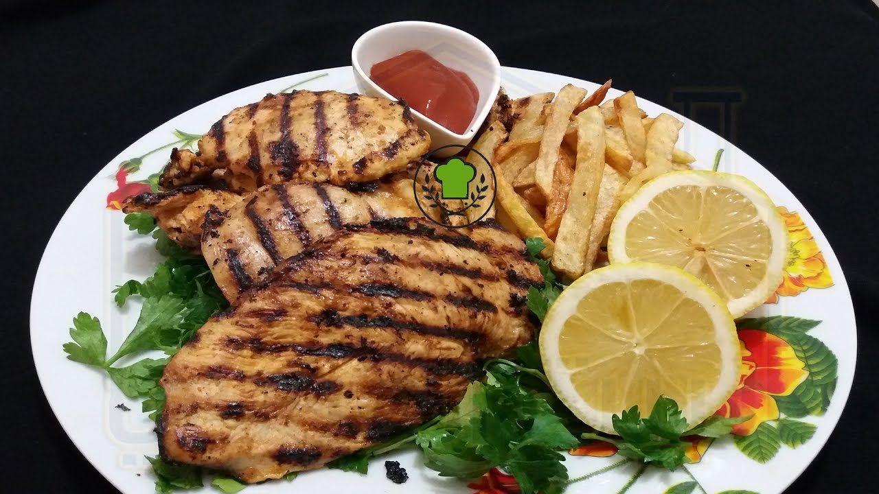 طريقة عمل ستيك الدجاج بالمايونيز Food Pork Meat