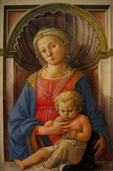 Filippo Lippi, Madonna and Child, c. 1440-45. Tempera on panel. National Gallery of Art, Washington, D.C.