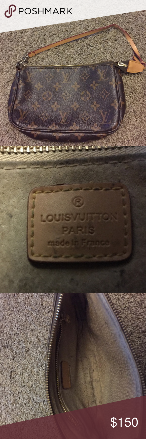 Small monogram Louis Vuitton bag Brown monogram Louis Vuitton bag Louis Vuitton Bags Mini Bags