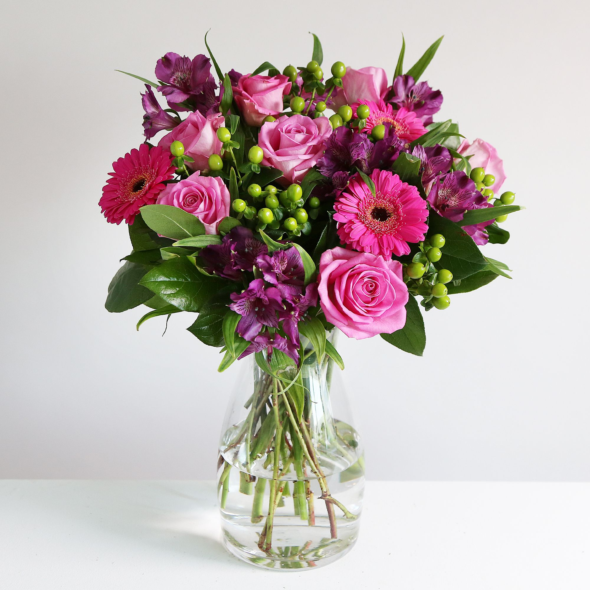 Crazy For You Bouquet This Sassy Bouquet Combines Vibrant Shades
