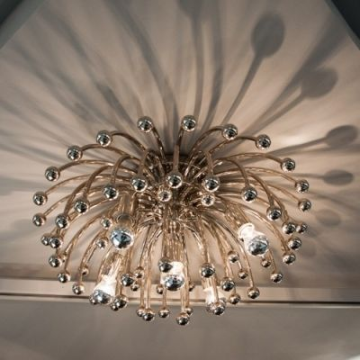 Close To Ceiling Lights Custom Chrysanthemum Modern Downward Close To Ceiling Light  Ceiling Decorating Inspiration