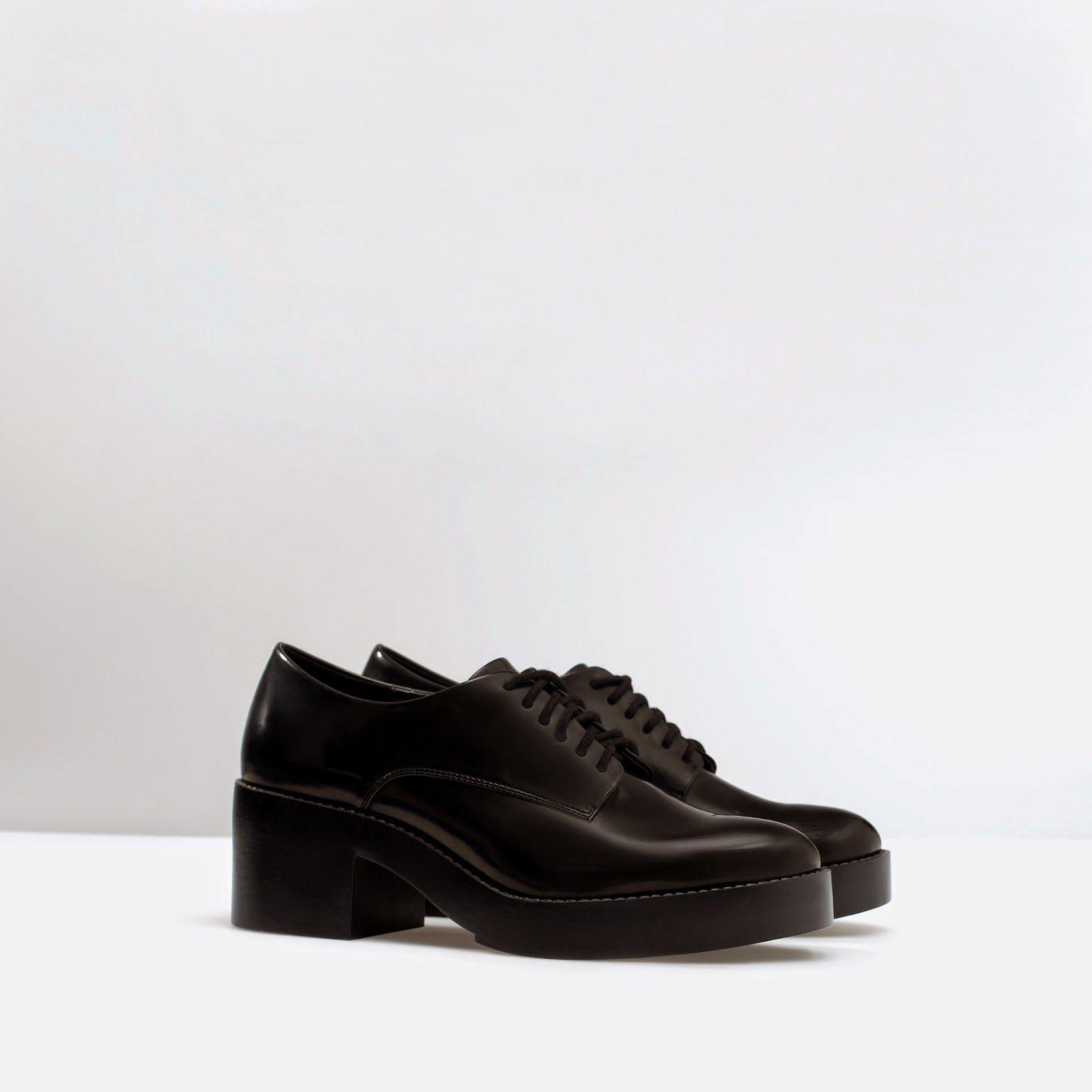 Zara Platform Blucher Review   Shoes