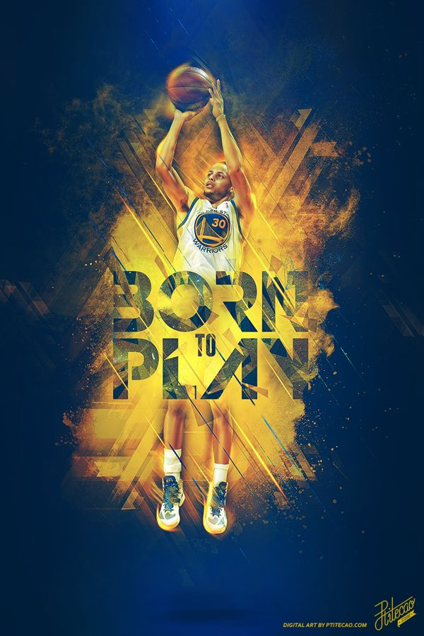 finest selection 65ebc 72030 2014 NBA PLAYOFFS - BORN TO PLAY by Caroline Blanchet, via Behance