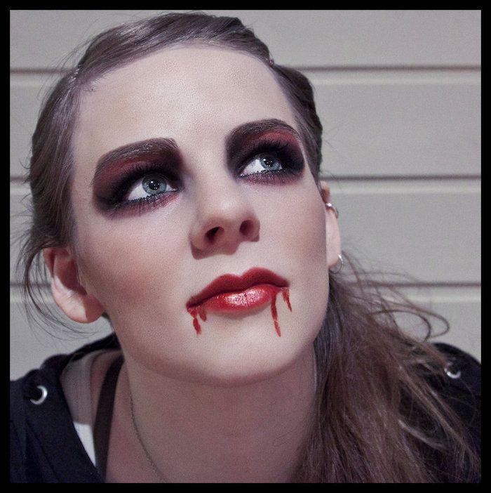 1001 Ideen Und Bilder Zum Thema Vampir Schminken Feste