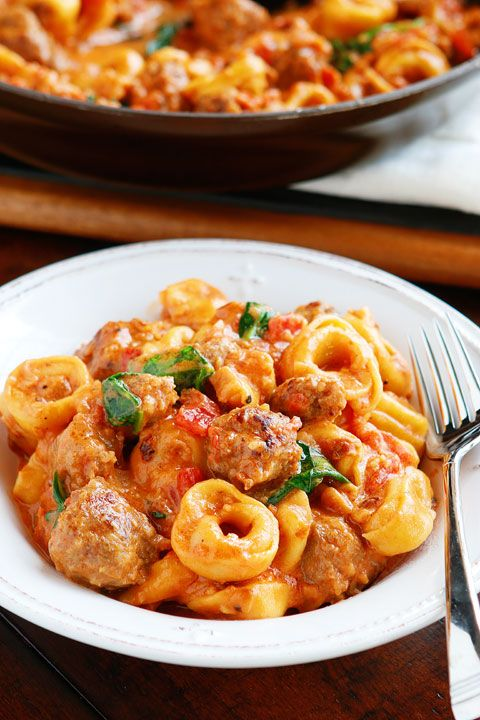 Italian Sausage Tortellini Our Favorite Tortellini Recipes Recipe Tortellini Recipes Sausage Tortellini Recipe Sausage Tortellini