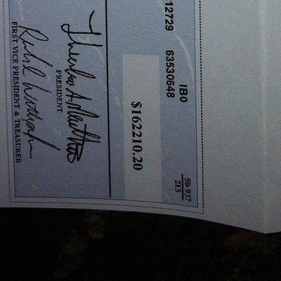 And I Got Another One This Week Trustfund Check By Bon Et Copieux Money Bill Hack Free Money Money Goals