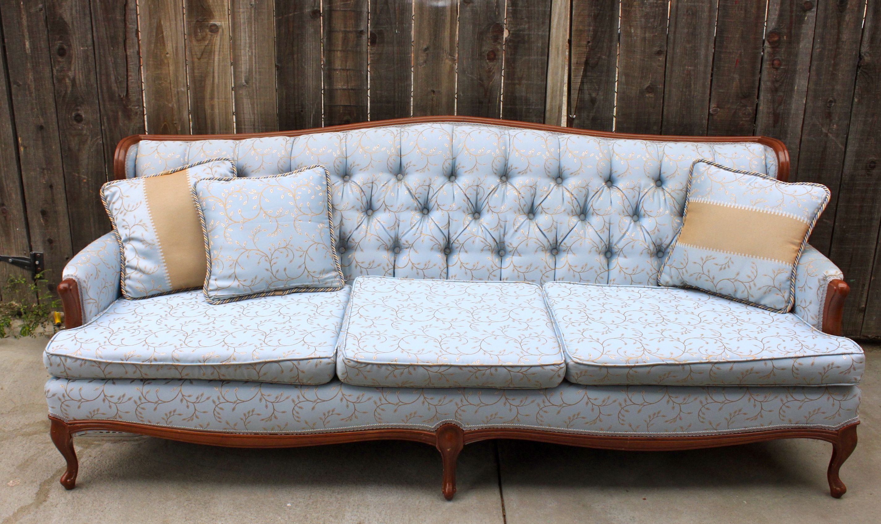 Vintage Couches Antique Couch Furniture Retro Cushions Pillows
