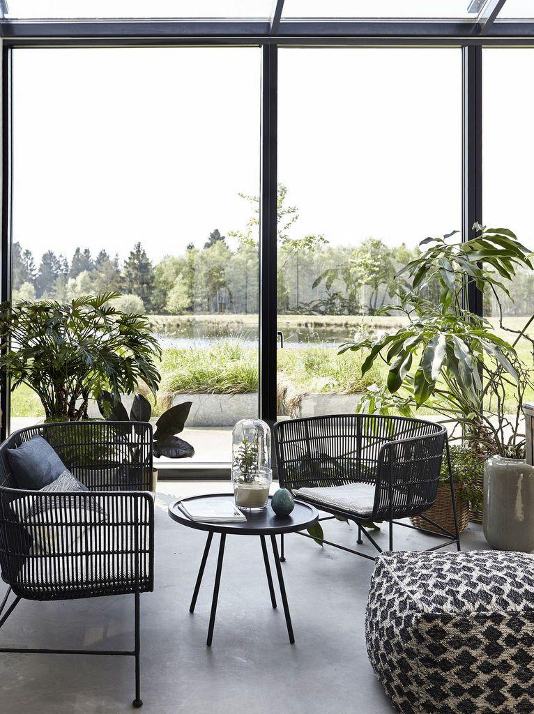 Un salon façon jardin d\'hiver : des idées déco pour l\'aménager ...