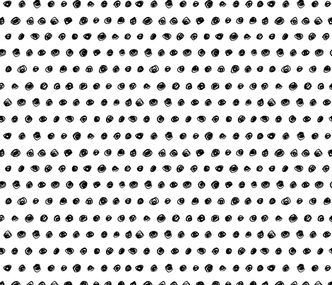 Colorful Fabrics Digitally Printed By Spoonflower Doodle Polka Dot Polka Dot Fabric Fabric Inspiration Fabric