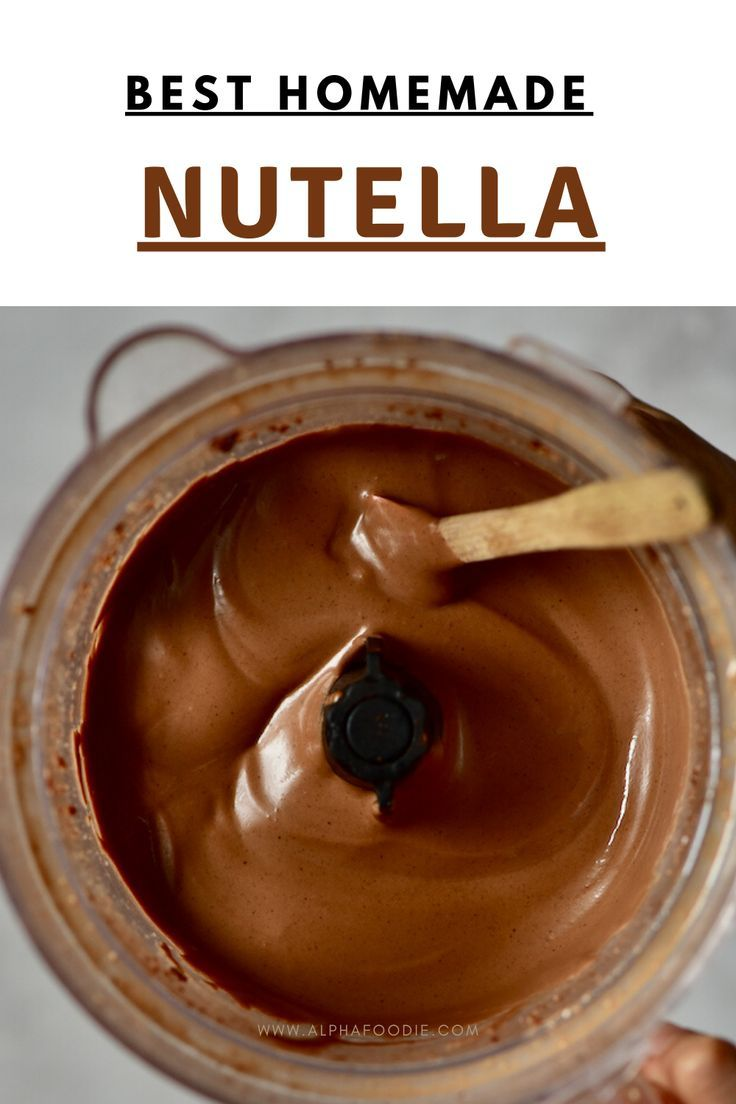 Diy homemade vegan nutella recipe refined sugarfree