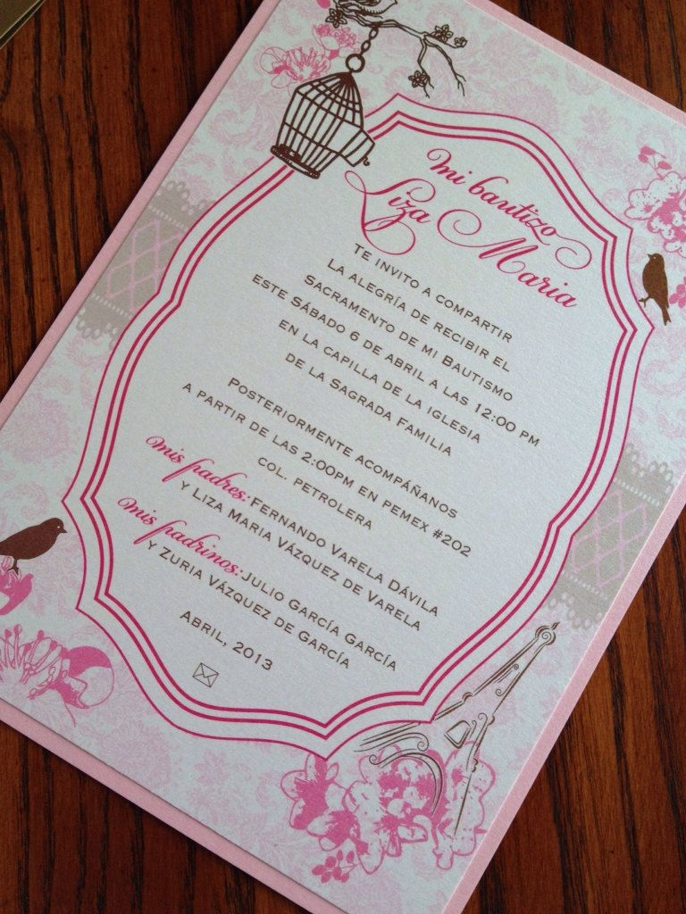 New to anaderoux on Etsy: Baptism Invitation - Communion Invitation ...