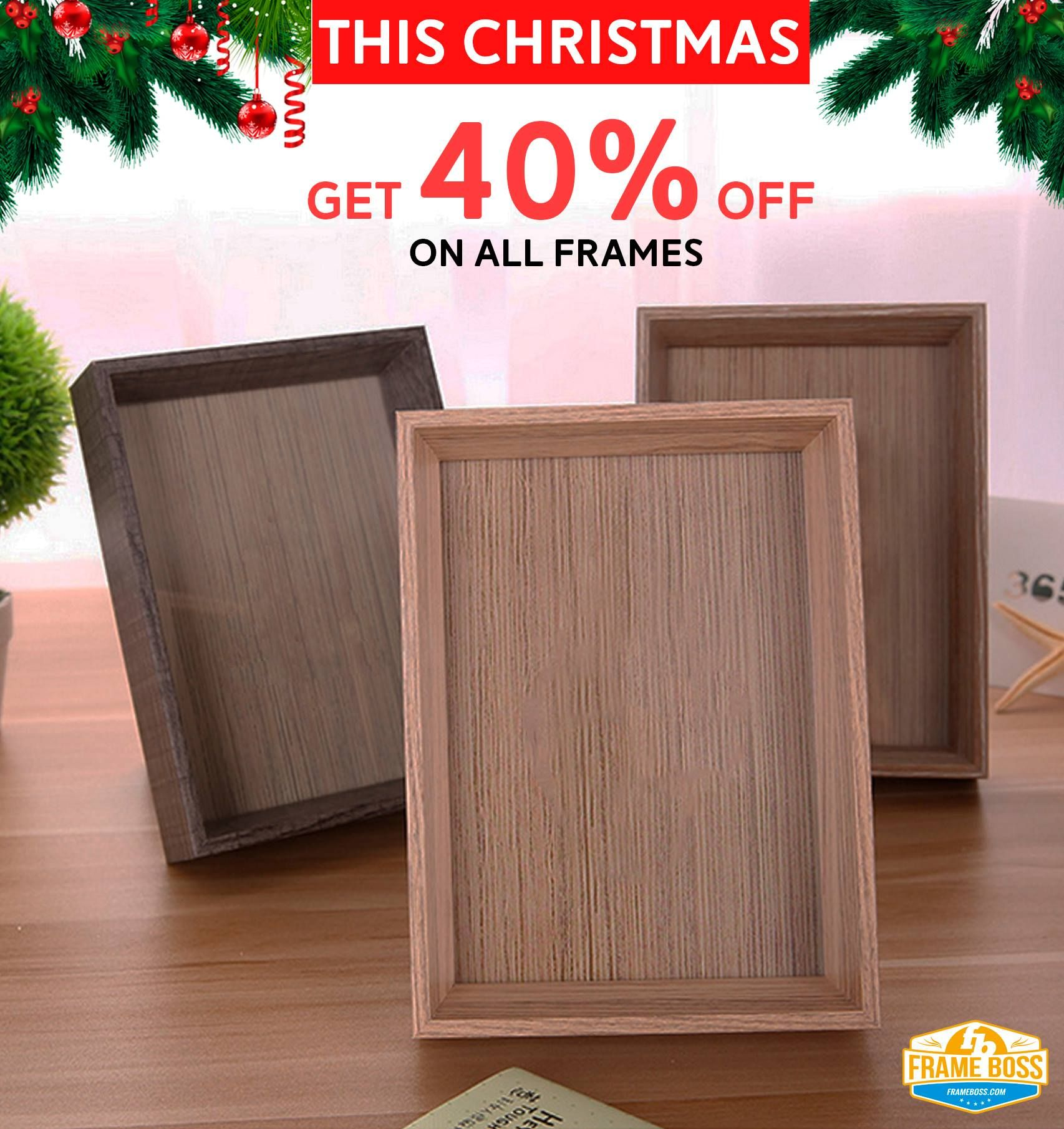 This Christmas! Avail Huge 40% Discount on all frames, Get your ...