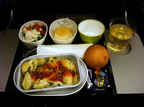 Best cathay pacific food options