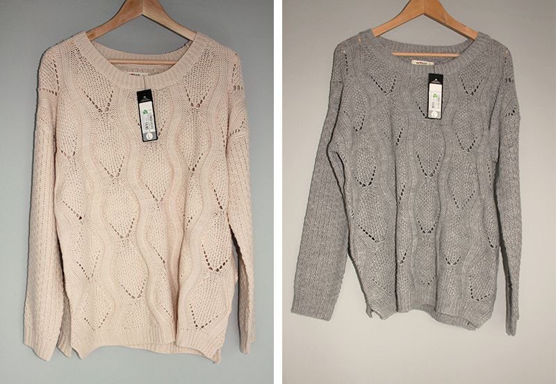 Cosy knitted sweaters