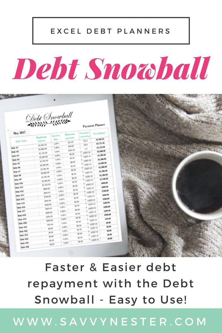 Debt snowball excel excel debt payoff excel credit