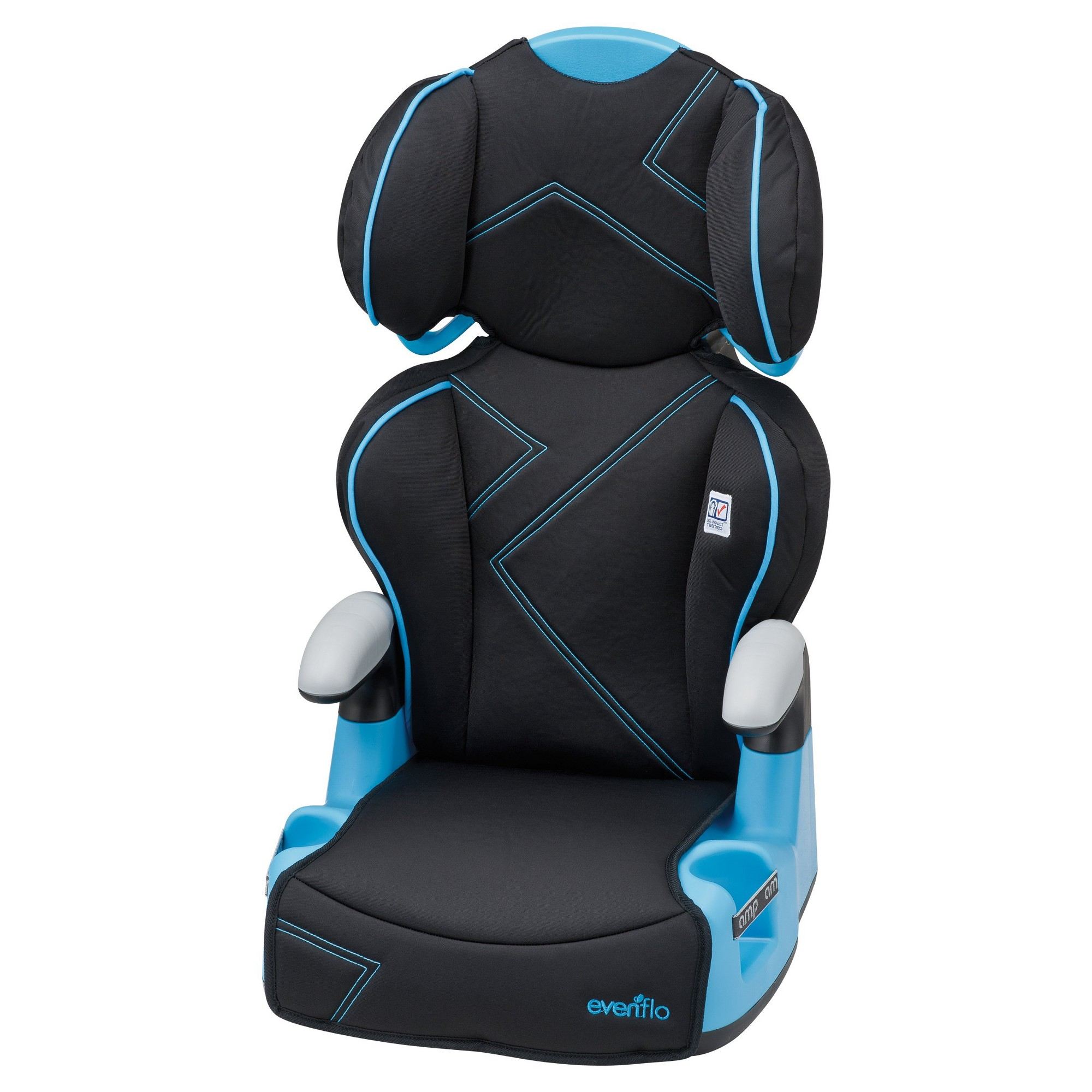 Blue Angles Evenflo AMP High Back Car Seat Booster