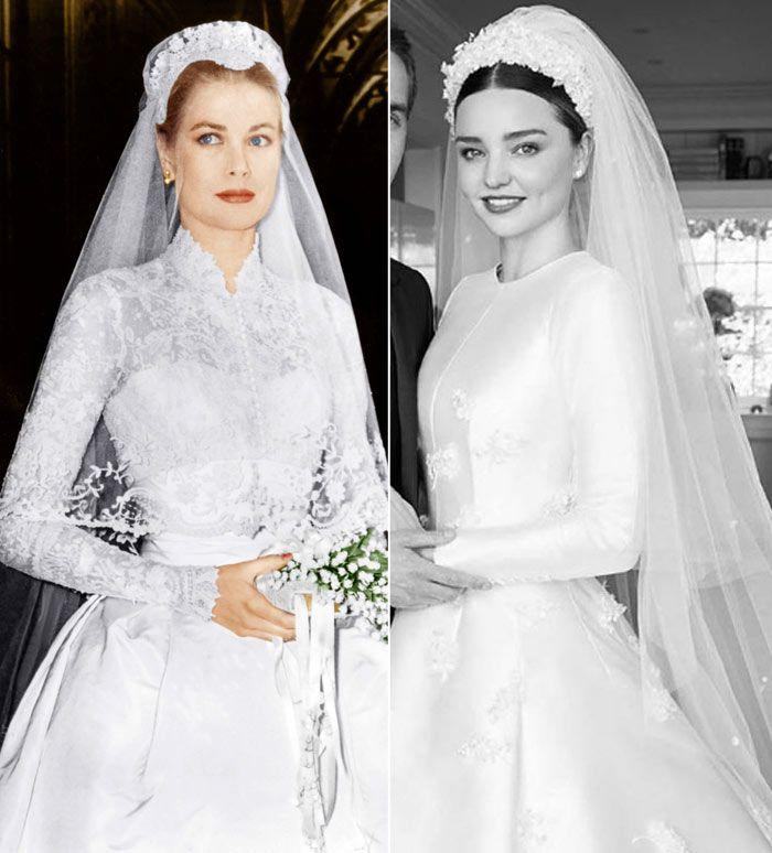 miranda kerr muestra su vestido de novia inspirado en el de una