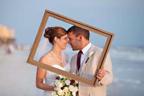 Prop frame wedding portraitlarge Wedding Frame Ideas