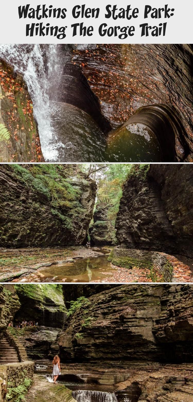 Watkins Glen State Park Hiking The Trail in 2020