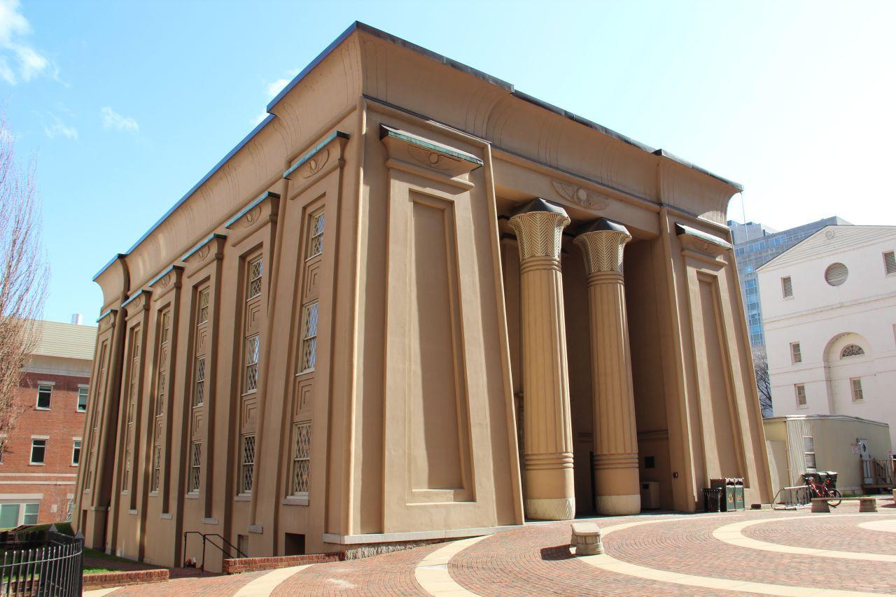 egyptian building architecture richmond presentation techniques
