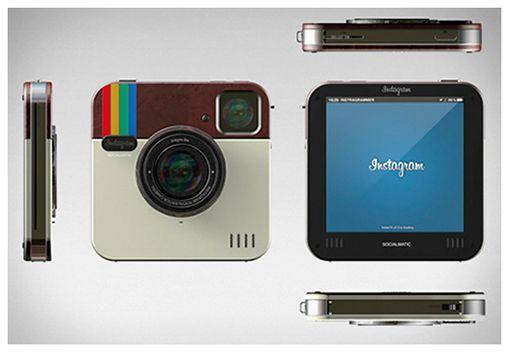 cámara polaroid instagram socialmatic