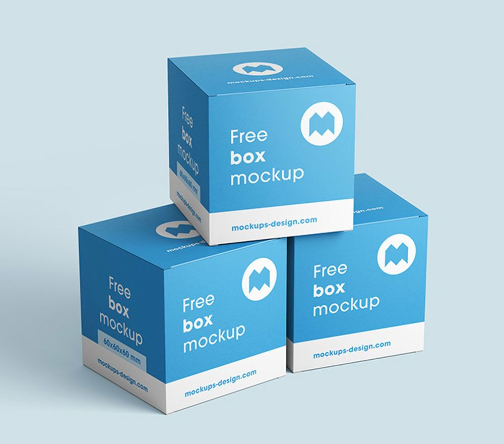 Download Free Square Box Packaging Mockup Free Square Box Packaging Mockup Box Mockup Free Boxes Packaging Mockup