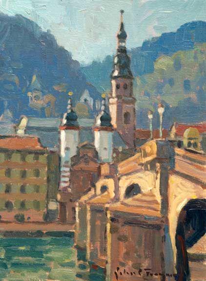 "John C. Traynor  ""A Bridge Between Worlds, Germany"""