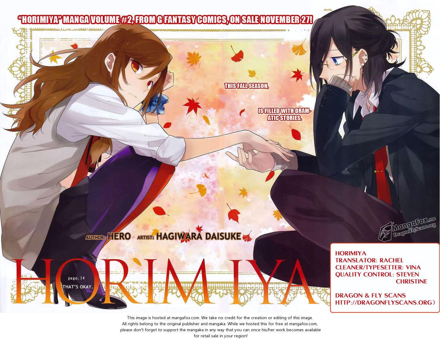 Horimiya 14 Horimiya Manga Online Anime