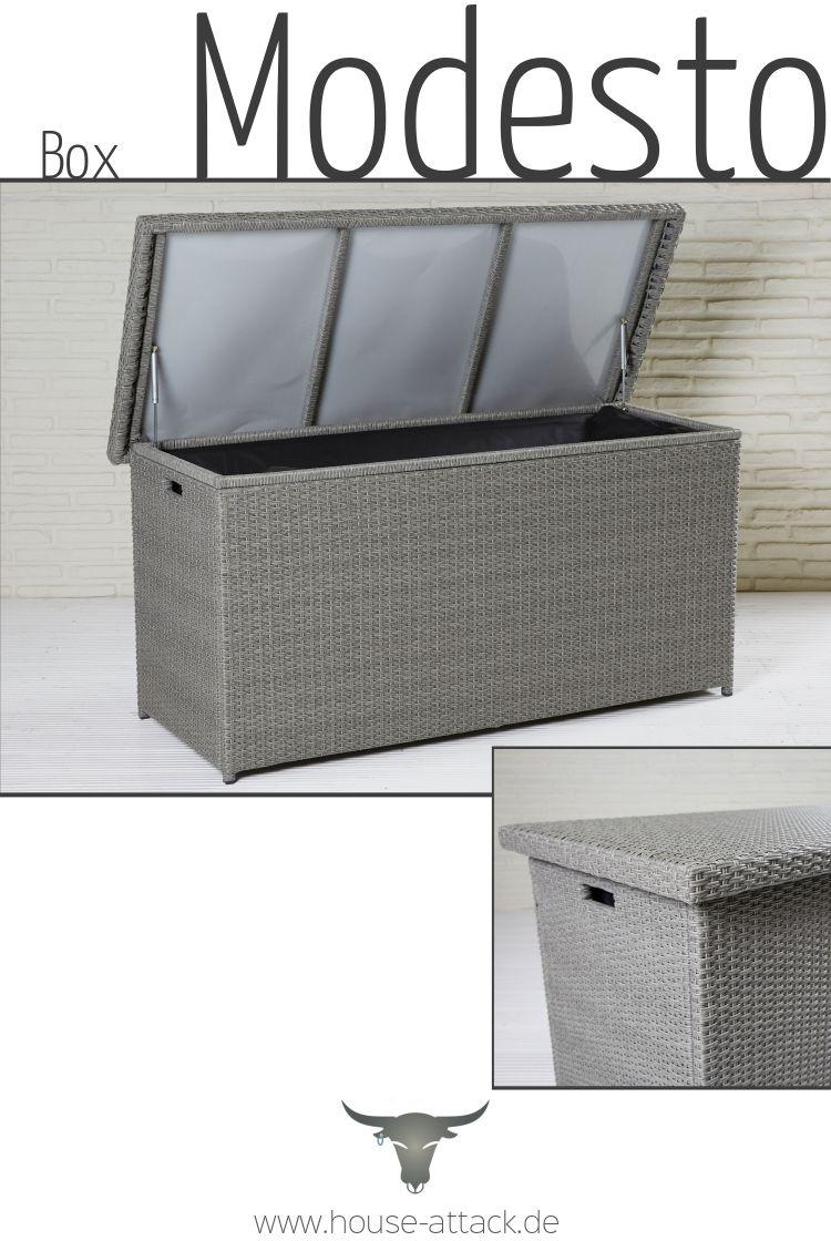 Auflagenbox Modesto Kissenbox Auflagenbox Truhe