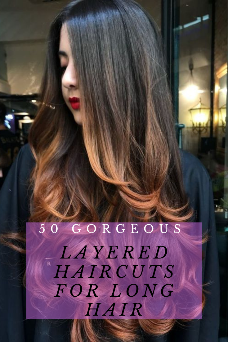 50 Gorgeous Layered Haircuts for Long Hair | Haircuts for long hair with  layers, Haircuts for long hair, Long hair styles