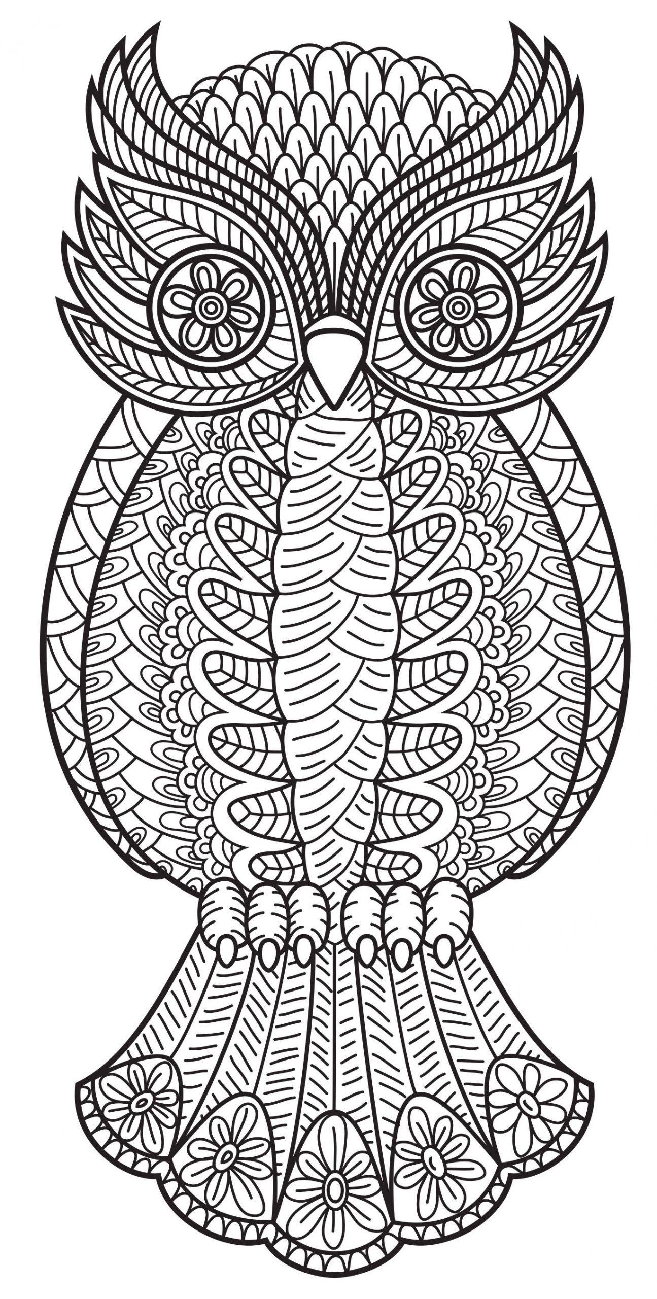 Malvorlagen Mandala Eule Owl Coloring Pages Animal Coloring Pages Coloring Books