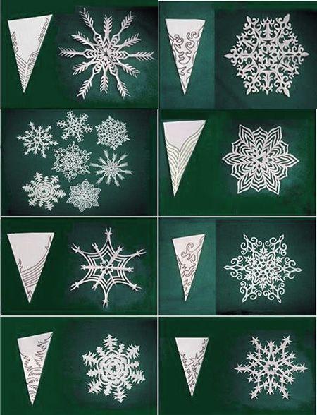 Fiocchi Di Neve Di Carta Paper Things Fiocchi Di Neve Di