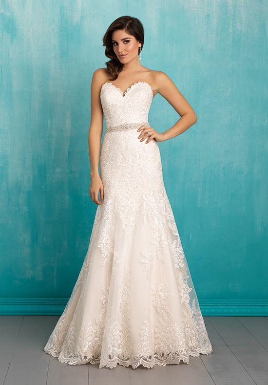 Allure lace wedding dresses 2018