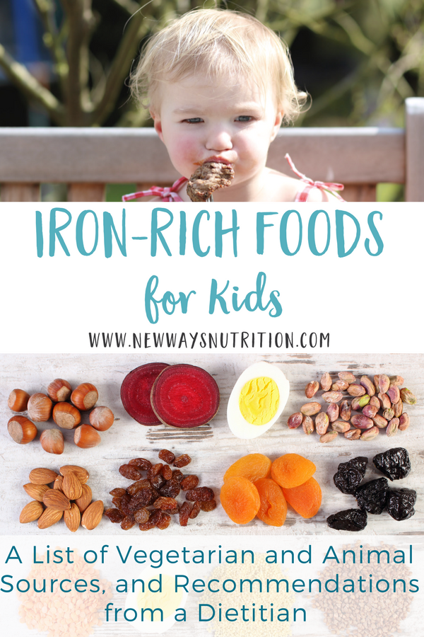 IronRich Foods for Toddlers and Babies (With images