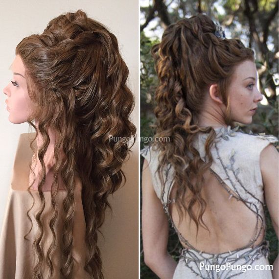 Wedding Hairstyle Game: Margaery Tyrell Costume Wig