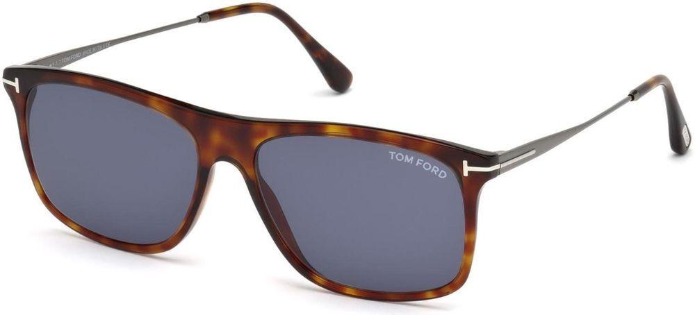 cad984465428f Sunglasses Tom Ford FT 0588 Max- 02 54V red havana blue
