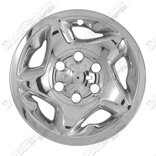 Toyota Tundra 2000 2002 Chrome Wheel Covers 5 Star Directional 16