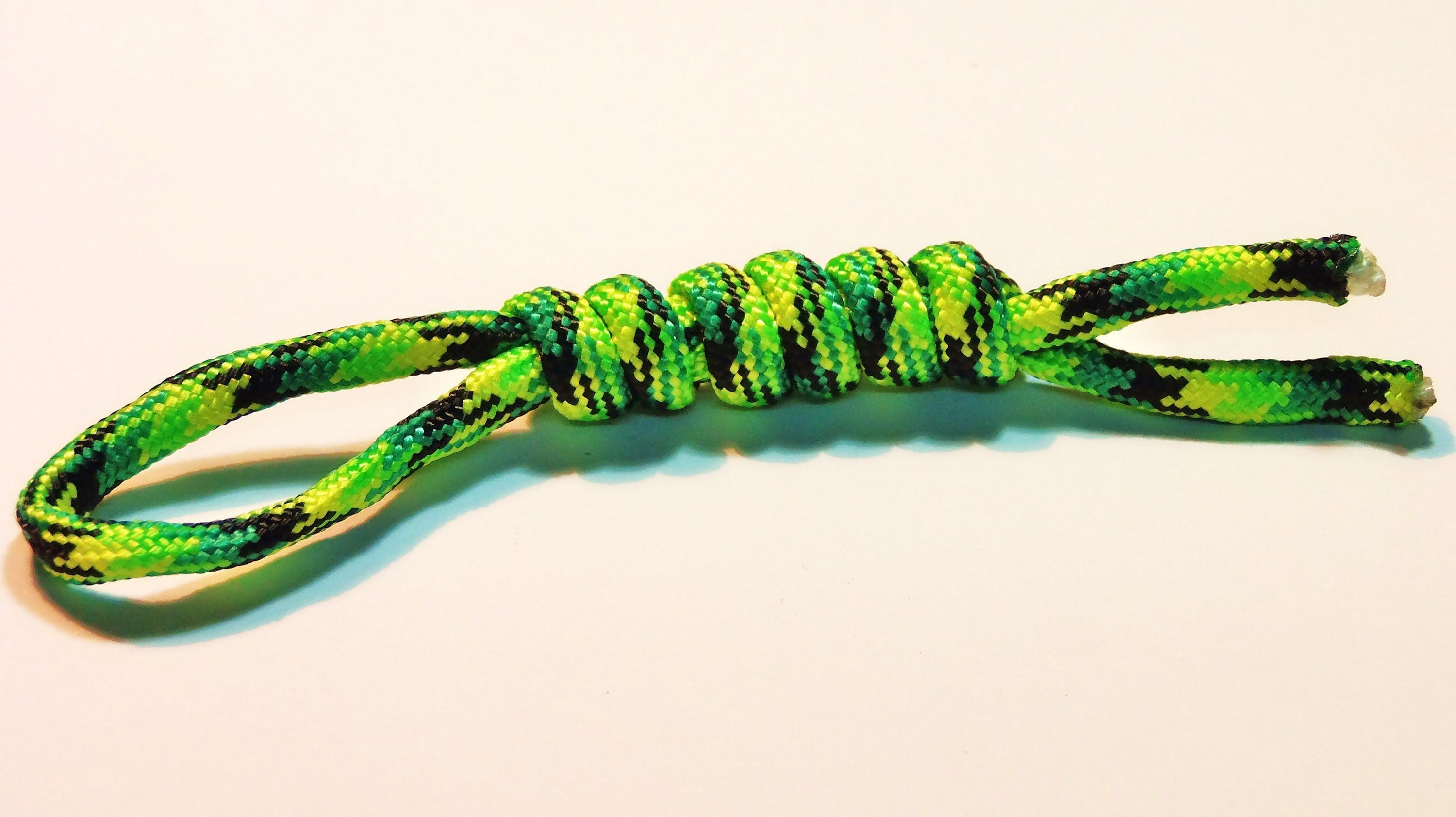 How To Make Tie Snake Knot Lanyard Tutorial Easy And Simple
