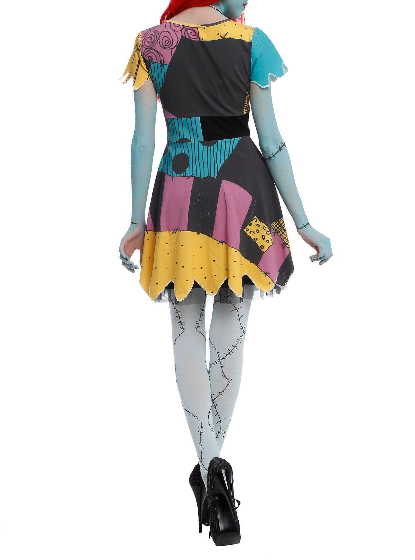 The Nightmare Before Christmas Sally Costume Dress | Sally ...