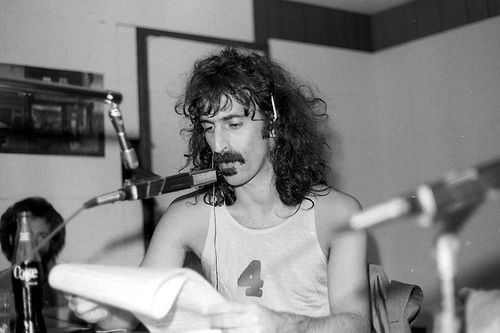 Frank Zappa at WLYX - July 1974
