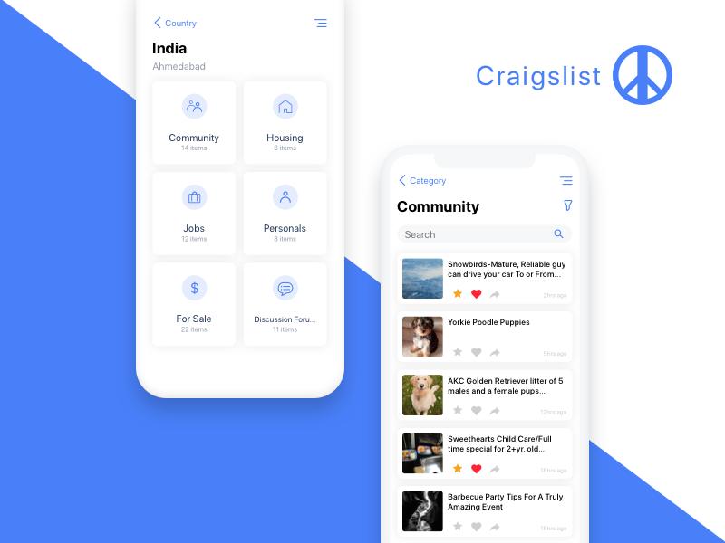 Craigslist iOS App (mit Bildern)