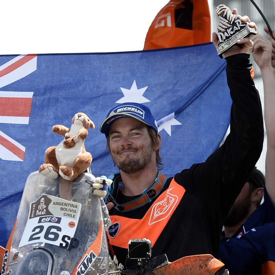 Toby Price - Go you good thing..Aussie Aussie Aussie!!