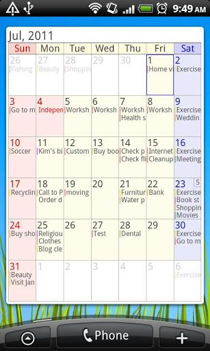 AA Task (Schedule \ Memo) Apps for Android phone \ tablet - meeting memo