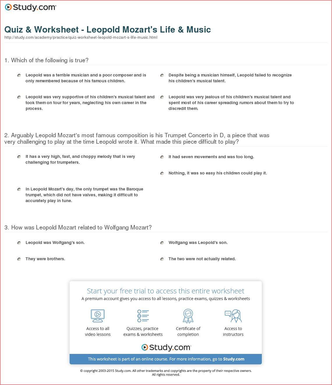 13 Naturlich Lebenslauf Mozart Stock In 2020 Practices Worksheets Teaching Methods Worksheets