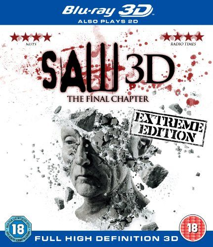 Saw 3D: The Final Chapter (Blu-ray + Blu-ray 3D) A great final part loved it and the 3D was great 4****