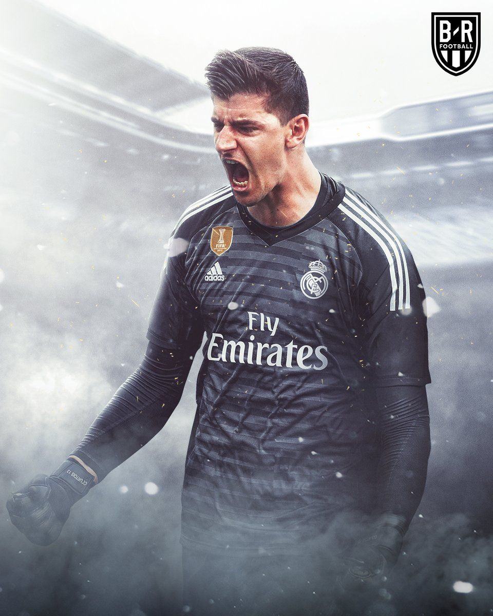 Thibaut Courtois Made His Real Madrid Debut Against Leganes Courtois Real Madrid Real Madrid Team Thibaut Courtois