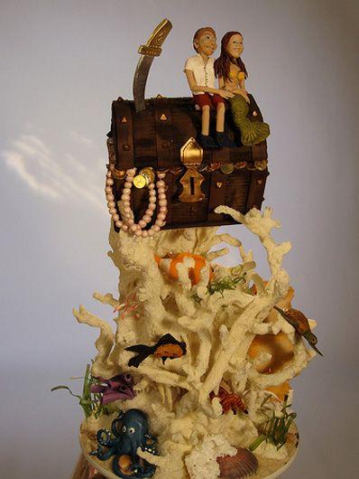 Christopher Garren's Coral Cake ~ Amazing Detail!